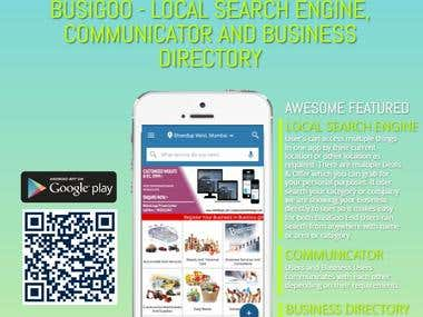 BusiGoo is an Local Search Engine, Communicator and Business
