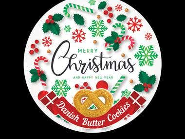 Christmas designs for Danish Butter Cookies