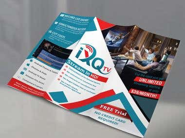 Design a beautiful brochure layout