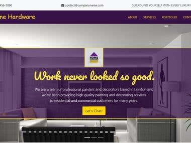 Interior Decorator Web Application