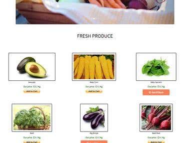 GAIA - An Organic Farm Website