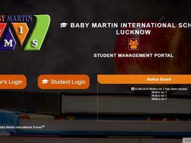 A School Management System Web App