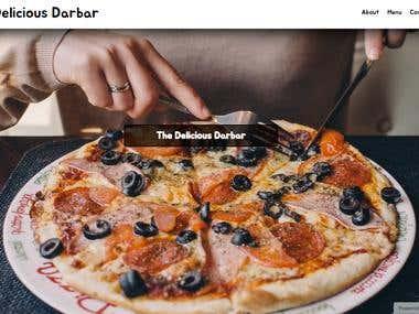 A Restaurant Website