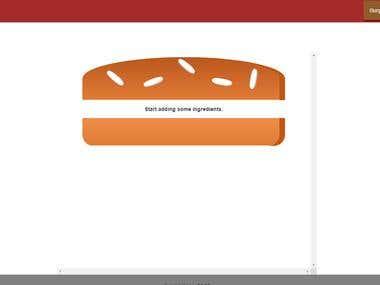 A React Js - Burger Builder Application