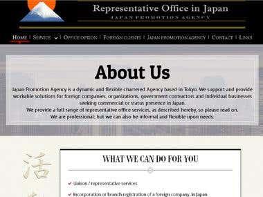 Representative Office in Japan