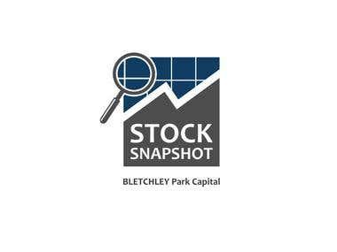 STOCK SNAPSHOT Logo creation
