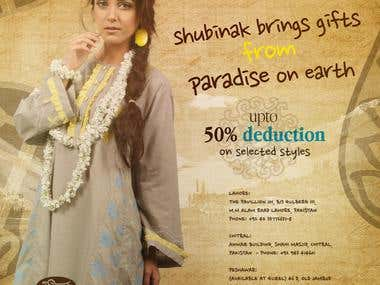 Shubinak Fabric Print Ads