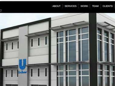 Company Portfolio website