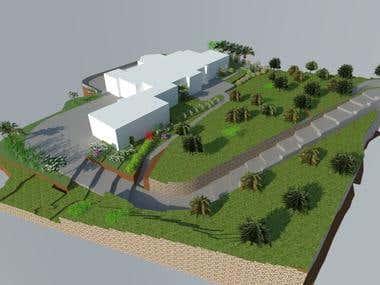 HOA LANDSCAPE - 3D RENDERING