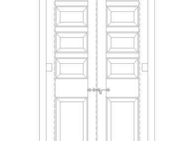 Architectural Door Panelled Door