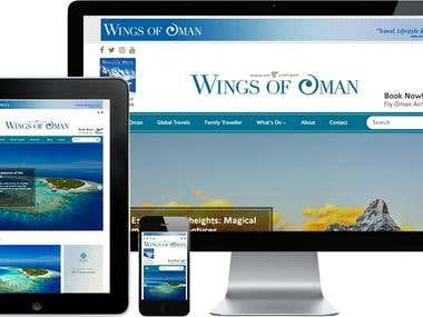Wings of oman