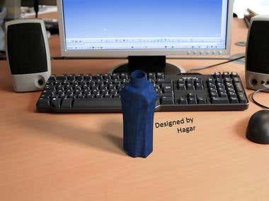 Plastic Bottle design
