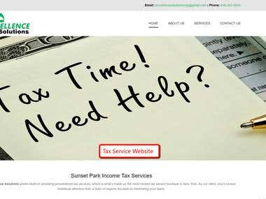 Tax Service Website