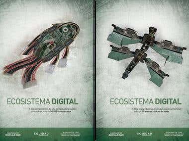 Reciclaje RAEE: Campaña social / Social campaigns
