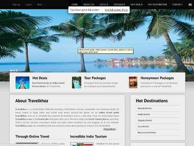 smart travel Website