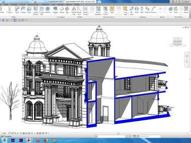 revit architecture modeling