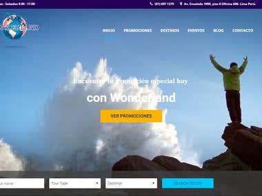 Agencia de Viajes Wonderland