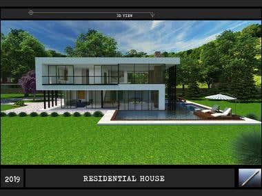 RESIDENTAL HOUSE