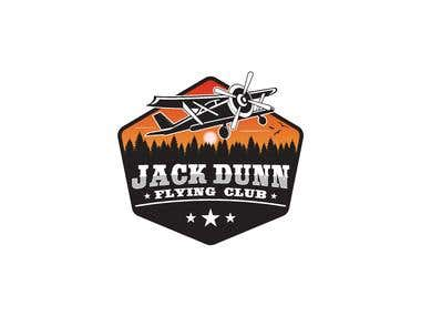 Jack Dunn Flying Club Logo Design