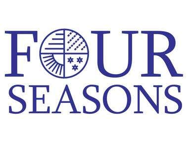 "Hotel Logo - ""Four Season"""