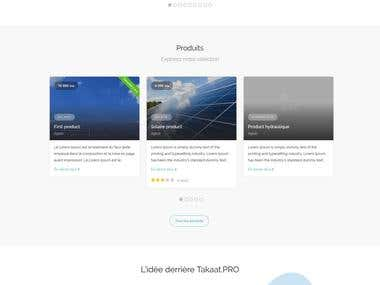 Takaat.PRO is a Portal about renewable energy in Morocco