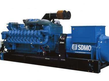 Contextual advertising diesel generators and power plants.