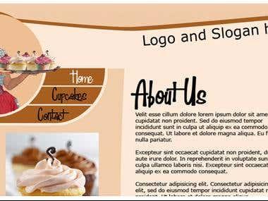 Cupcake site