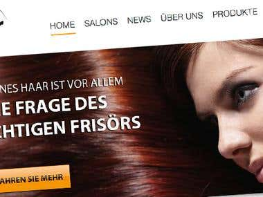 Modern Design for 'Moderne Frisuren'