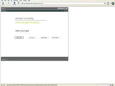AMEDA University | Management Software Oracle Forms PLSQL