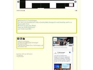 I-Tech | HTML CSS JS PHP Form Based Website Template