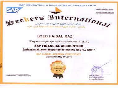 SAP Certification Course