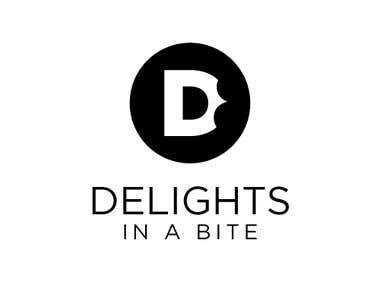 Delights in a bite - Logo