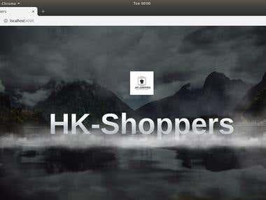 HK-Shoppers Online Shopping website