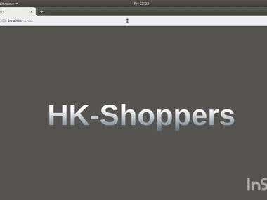 HK-Shoppers, Online shopping website