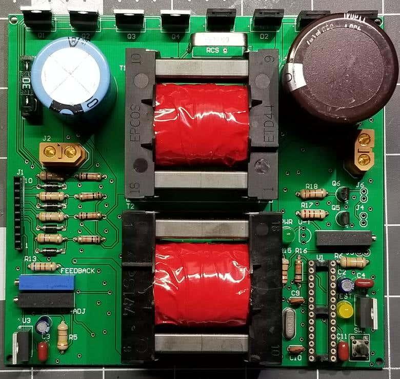 48-350 VDC DC-DC Boost Converter PCB | Freelancer
