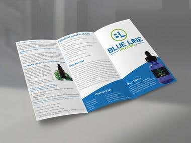 Trifold Product Brochure