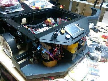 ROS based mobile robot