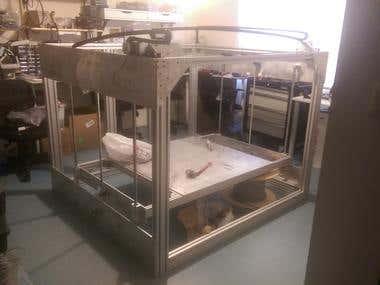 Experimental BIG 3D Printer