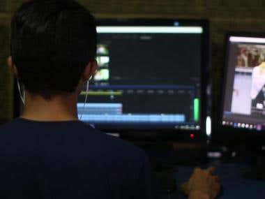 Video editing YouTube video editing and production