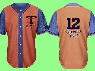 Tri Cities Baseball Jersey
