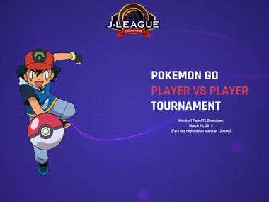 Pokemon GO Tournament Website
