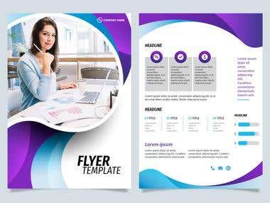 Flyer Design.