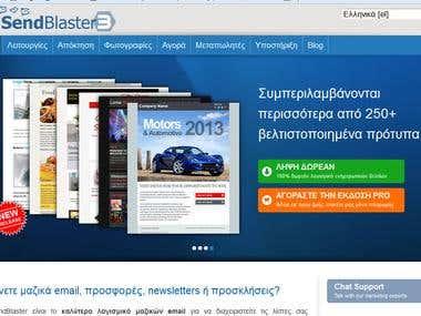 Websites translations