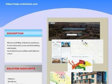 CCDCBoise Map