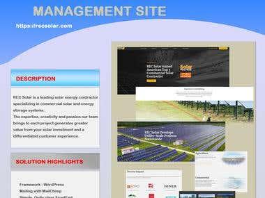 RecSolar Website