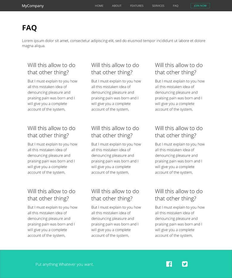 Demo of personal website | Freelancer