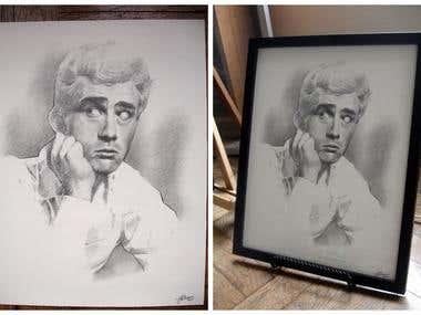 James Dean - Portrait