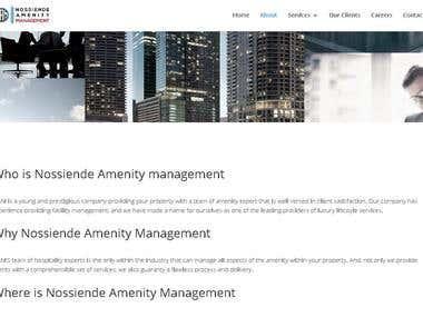 Nossiende Amenity management