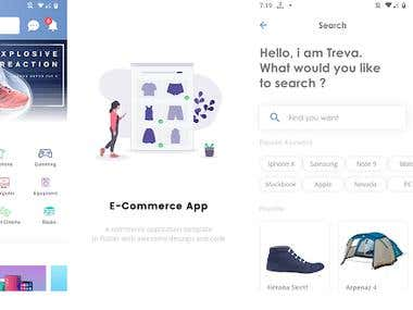E-COMMERCE APPS