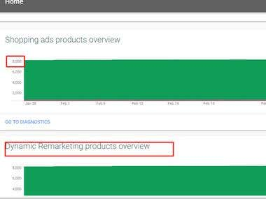 Dynamic remarketing & Shopping feed approved